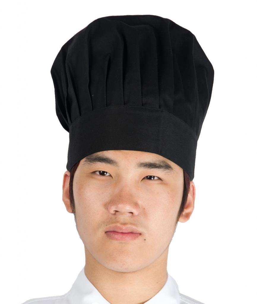 Newshine Baker Chef Hat adjustable Black by NewShine