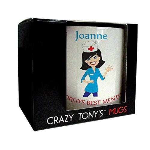 Nurse Mentor Gift, Mentors Mug, Personalised Thank You Gift, Crazy Tony's,...
