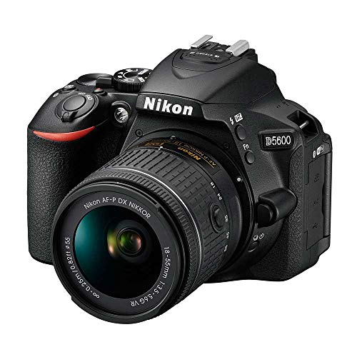 Nikon D5600 DSLR with 18-55mm f/3.5-5.6G VR and 70-300mm f/4.5-6.3G ED (Certified Refurbished)
