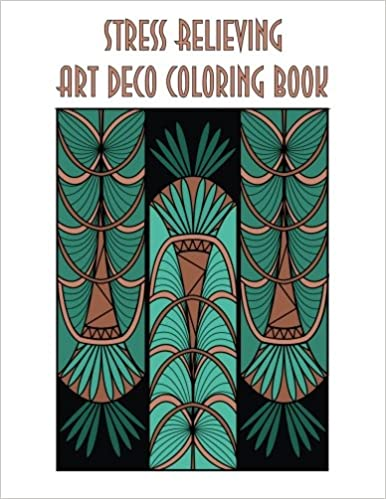 Stress Relieving Art Deco Coloring Book Individuality Books 9781518609022 Amazon