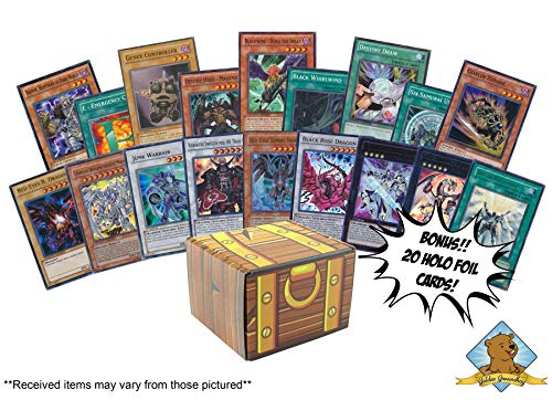 100 Yugioh Cards - Bonus 20 Yugioh Foils! Includes for sale  Delivered anywhere in USA