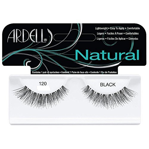 Fashion Ardell (Ardell Fashion Lashes Natural Strip Lash, Black [120] 1 ea (Pack of 5))