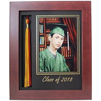 Amazon.com - 3art Graduation Tassel 8x10 Picture Frame Black 2018 ...
