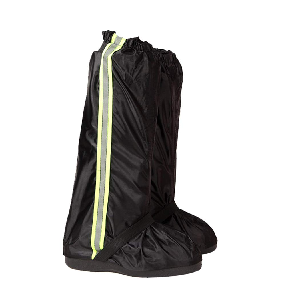Kedera Anti-Slip Waterproof Boot Rain Covers with Reflective Sturdy Zipper Elastic Bands for Outdoor