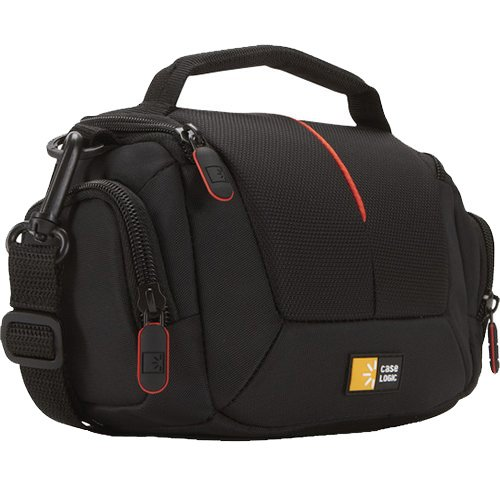 Case-Logic-DCB-305-Compact-SystemHybridCamcorder-Kit-Bag-Black