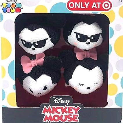 Disney Store Mickey E Minnie Mouse E Amigos tsum tsum Bolsa Encantos Novo