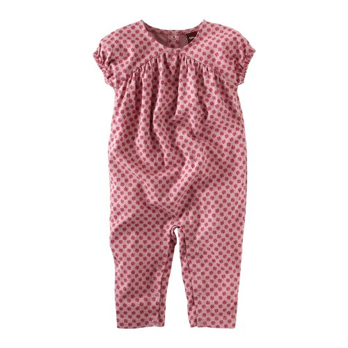 Tea Collection Baby-girls Infant Lotus Blossom Romper