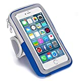 Best Iphone 6 Plus Armbands - Sports Armband Running Cell Phone Arm Band Sweatproof Review