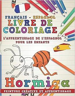 Livre De Coloriage Francais Espagnol I L Apprentissage De