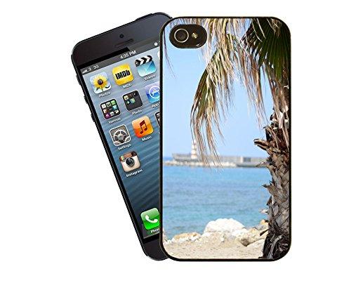 Chypre plage-Etui Coque pour Apple iPhone 4/4s Modèle-By Eclipse idées cadeaux