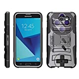Cheap TurtleArmor | Compatible for Samsung Galaxy J7 2017 Case | J7 Prime | J7 Sky Pro [Hyper Shock] Hybrid Dual Layer Armor Holster Belt Clip Case Kickstand – Classic Game Controller