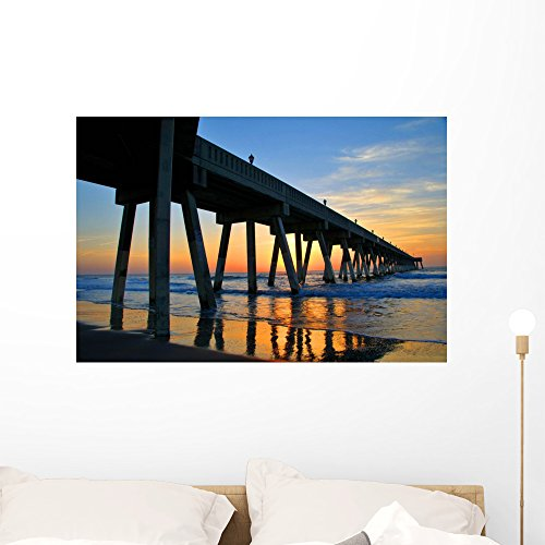 - Wallmonkeys Wilmington Beach North Carolina Wall Mural Peel and Stick Graphic (36 in W x 24 in H) WM104061