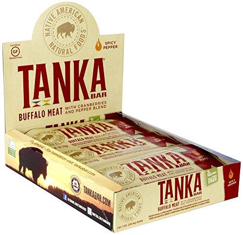 Tanka Bar, Spicy Pepper Blend, 1-Ounce Bars (Pack of 6)