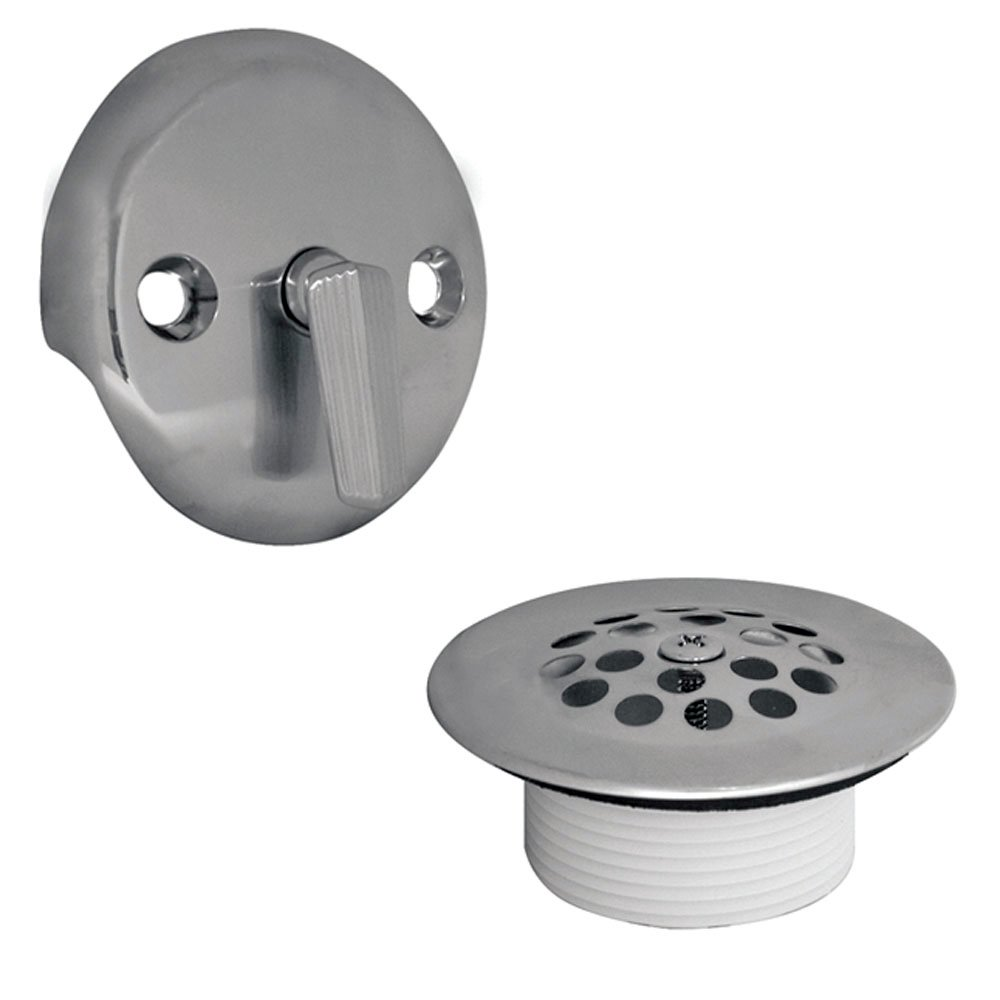 DANCO All-in-One Drain Trip Lever Conversion Kit, Chrome, Fits 1-1/2-Inch or 1-3/4-Inch Drain Shoe, 1-Set (80977) by Danco
