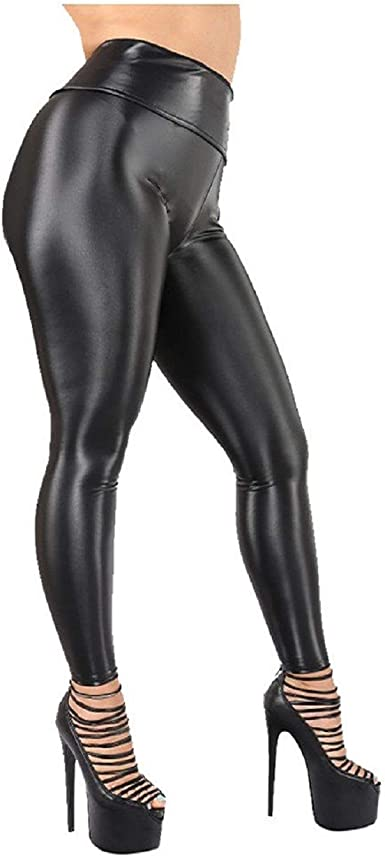 Boomboom Women's Leather Pants Solid