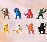 little ninja figures - 24 Mini Karate Ninjas Warriors Fighters Figures Cupcake Cake Toppers Ninja Kung Fu Guys Martial Arts Men Lot Party Favors
