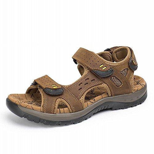 Masculinas De Zapatillas Planas Casuales Libre Aire Sandalias Zapatos Los Tamaño Playa Verano Hombres A Gran Al Rbb Huecos Zq45pw