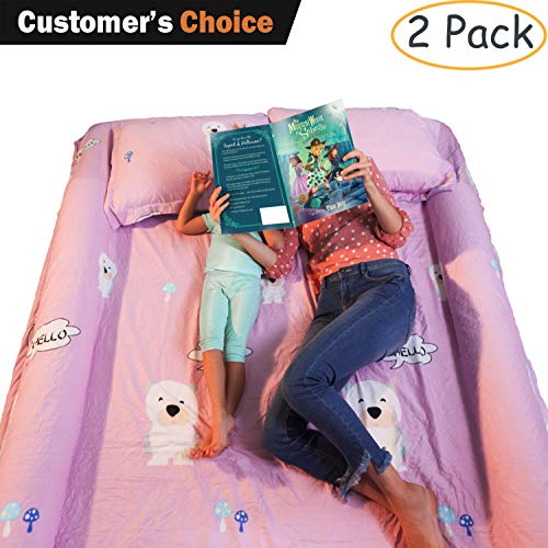 Bed Bumpers for Toddlers & Kids - Premium Foam Bumpers for Queen Bed, Toddler Side Rails for Twin Bed, Full Size Bed - Perfect Toddler Bed Bumper & Bed Rails for Toddlers (Full Bed Side Rails Size Bed For)