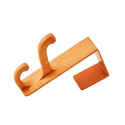 ZLR Fuerte Fuerza Gancho creativo de la puerta-parte posterior que carga el gancho de