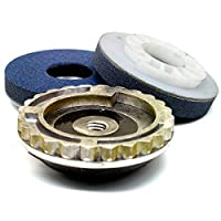 Extra Coarse (grey) Alpha PVA Quick Change Polishing Pads 5 Pack by Alpha Professional Tools