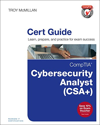 Comptia Cybersecurity Analyst  Cysa   Cert Guide  Certification Guide