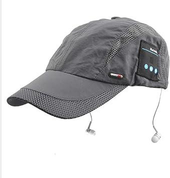 LETAMG Bluetooth Hat Gorra Bluetooth de Verano Gorra para el ...