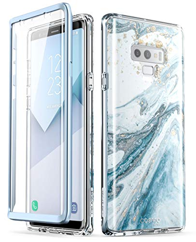 i-Blason Cosmo Full-Body Bumper Protective Case for Galaxy Note 9 2018 Release, Blue