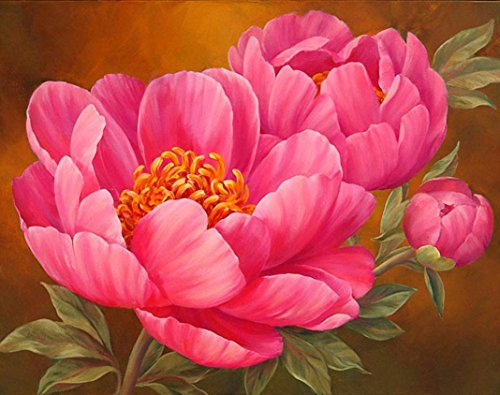 CYCTECH 5D Flower Diamond Painting, Hot Sale Cross Stitch Pa