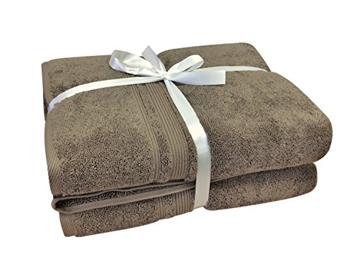 Charisma - Hygro Cotton 2 Piece Towel Set (Cobblestone)