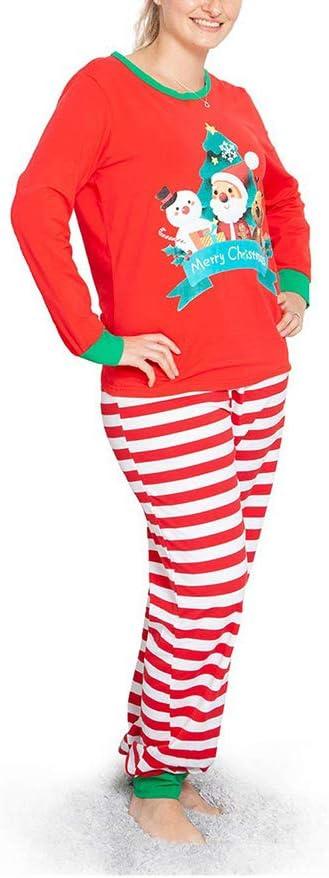 HLSUSAN - Pijama para hombre, mujer, niños, pijama, estampado ...