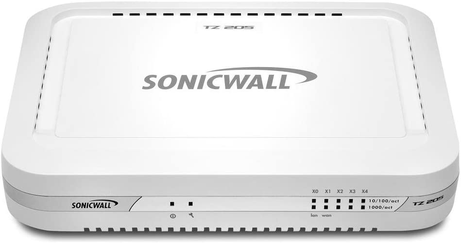 Sonicwall TZ 205 Network Security Appliance