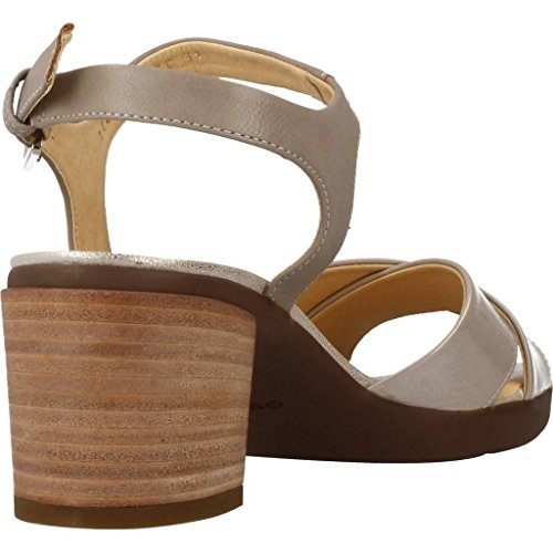 1607a540 Delicado Sandalias y Chanclas para Mujer, Color Gris, Marca Geox, Modelo  Sandalias Y