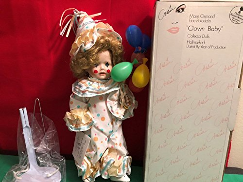 (Marie Osmond Porcelain Doll Courtnie Clown Baby C9627)