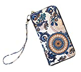 LOVESHE Women wallet Inner leaf Bohemian wristlet Clutch wallets