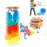 Wekold Colorful Soaking Soil Magic Water Beads, Jelly Balls for Kids Toys, DIY Home Decoration