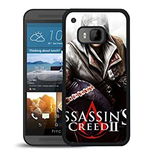 M9 case,Assassins Creed Desmond Miles Peoples Arm Knife Masks HTC ONE M9 cover