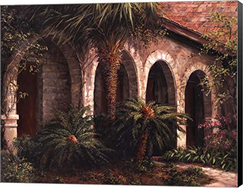 (Sago Arches by Art Fronckowiak Canvas Art Wall Picture, Museum Wrapped with Black Sides, 28 x 22 inches)