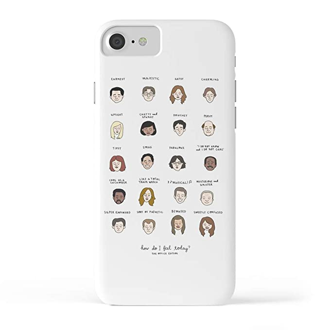 timeless design 42928 28198 Amazon.com: Society6 iPhone 7 Cases, Featuring The Office Mood Chart ...