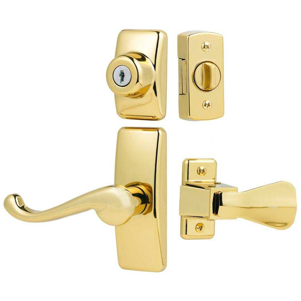 Ideal Security Hk01 I 022 Deluxe Storm And Screen Door Lever Handle