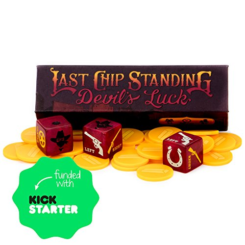 Last Chip Standing: Devil's Luck - Fast, Light & Fun Pocket Family Dice Game by Brybelly