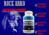 * ROCK HARD REVOLUTION * Extreme Sexual Enhancer For Men - Natural Male Enhancement - Libido Booster Supplement For Men - Increase Performance Size And Length Over Time
