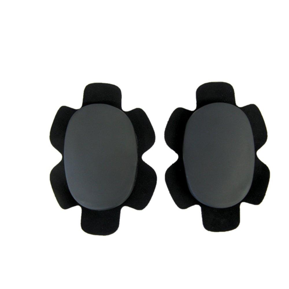バイクパンツ用ニースライダー (ROUGH&ROAD) ブラック (左右1セット) ラフアンドロード RA500