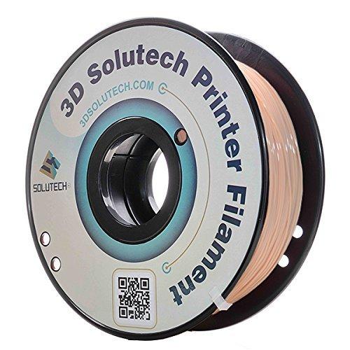 3D Solutech Skin 3D Printer PLA Filament 1.75MM Filament 2.2 LBS (1.0KG)