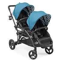 Contours Options Elite Tandem Double Stroller, Laguna Blue