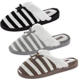 Aerosoles Comfy Cushioned House Slippers For Women, Mule Clogs, Warm & Soft Indoor Or Outdoor Shoes