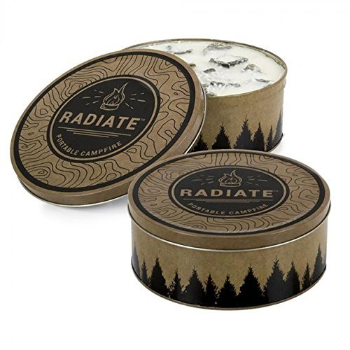 Radiate Portable Campfire 2 Pack (Made in The USA) by Radiate