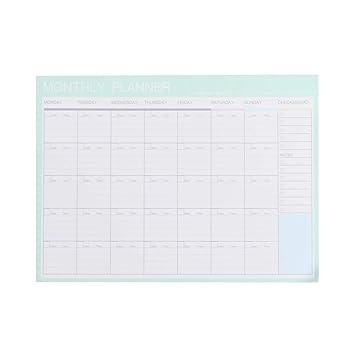Amazon.com: Agenda organizadora de agenda con calendario de ...