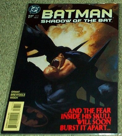 Price comparison product image Batman Shadow of the Bat No. 67 Oct 1997 (And The Fear Inside His Skull Will Soon Burst It Apart...)