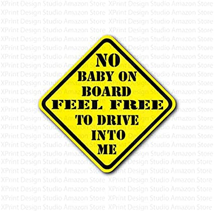 Baby On Board Sign For Car and Other Vehicle by GN Enterprises Baby On Board