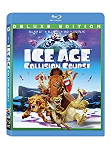 Cover Image for 'Ice Age 5: Collision Course [Blu-ray + Blu-ray 3D + DVD + Digital HD]'